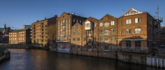 Leeds waterfront (thesageuk) Tags: leeds historicbuildings westyorkshire waterfront riveraire river riverside