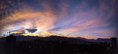 Atardecer en Medellín (_-J.L-_) Tags: atardecer sky skyland medellín sunset clouds landscape colors