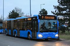 MHU-753 (Adamkings14) Tags: mhu753 mercedesbenz citaro c2 vtarriva bkk budapest újpalota 7es