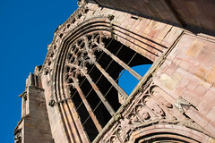 _DSC1414.jpg (Hideous Elf) Tags: abbey chruch detail grave lights melrose melroseabbey shadow stone