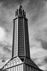 IMG_3006 (cachalo60) Tags: augusteperret église lehavre architecture seinemaritime graphique canon6d canon tamron vitraux noiretblanc nb