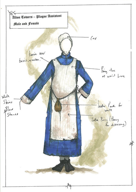 Dungeon Costume Designs - The Plague Doctor