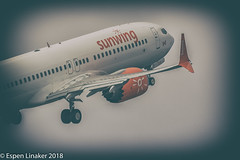 C-FMXA Sunwing Airlines Boeing 737-8 MAX - 43297 / 6938 (Otertryne2010) Tags: 2018 2k18 737 boeing enva norge norway trd trondheim værnes sunwing airlines canada trident juncture 7378 max nato