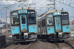 青い森701系すれ違い Aoimori701s passing by (しまむー) Tags: sony slta57 α57 sal75300 75300mm af f4556 train aoimori 青い森鉄道 青い森701系