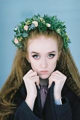 000053 (KirillSokolov) Tags: girl portrait nikon nikonru nikon8008s film 8514 85mm fujifilm400h 85d daylight studio finearts девушка портерт россия иваново дневнойсвет плёнка никон 85мм фуджи весна цветы flowers spring sexy pretty beauty cute young redhead redhair longhair рыжая