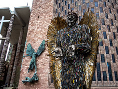 Knife Angel in Coventry (AlanOrganLRPS) Tags: knifeangel theknifeangel s stmichael thedevil statues angel angels coventrycathedral coventry knifecrime crime justice cityofculture