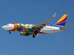 N945WN (ChrischMue) Tags: southwest airlines boeing b7377h4wl las vegas mccarran international klas n945wn