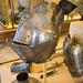 Armour helmet with flair