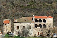 43 Auzon - Château XIV XV XVI (Herve_R 03) Tags: architecture auvergne château castle hauteloire france