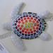 ''Rainbow Turtle'' by Josephine R, mosaic, $30.00