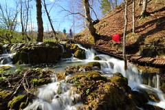 """Plitvice HR - """"Correnti ed Escursionisti"""" Croatian Experience 5 (Fabrizio Lucchese 1') Tags: croazia plitvice croatia hrvatska fabriziolucchese canon760d waterfall cascata wasserfall parconazionale nationalpark plitvičkajezera"""
