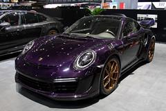 TopCar Stinger GTR purple carbon Porsche 991.2 Turbo S (Clément Tainturier) Tags: 2019 geneva international motor show salon de lautomobile lauto auto genève suisse switzerland supercar hypercar new hot gims topcar stinger gtr purple carbon porsche 9912 turbo s