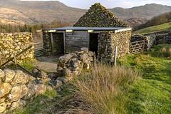 Doors (pollylew) Tags: doors building derelict stonebuilding