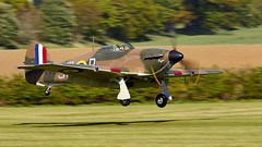 Hurricane (Bernie Condon) Tags: uk british shuttleworth collection oldwarden airfield airshow display aviation aircraft plane flying 100yearsoftheroyalairforceairshow hawker hurricane warplane fighter raf royalairforce fightercommand ww2 battleofbritian military preserved vintage