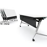 平行スタッキングテーブルの写真
