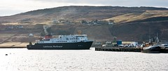 The ferry MV Hebrides arrives in Uig (Scotland North) Tags: andrewbennett isleofskye mvhebrides pentaxart pentaxkm smcpentaxda1855mmf3556alii 2010 april boat ferry km k2000 pentax sea ship spring uk uig justpentax