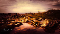 St Johns Rockpool (RonnieLMills 6 Million Views. Thank You All :)) Tags: st johns point lighthouse rockpool rocks textures killough rossglass county down northern ireland stjohnsrockpool ronnielmills