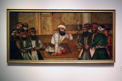 Painting: Karim Khan Zand and His Close Circle (Can Pac Swire) Tags: middleeastern art museum islamic agakhan toronto ontario canada canadian arabic muslim 2018aimg6962 painting