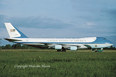 BOEING VC-25A 92-9000 USAF (shanairpic) Tags: military transport b747 boeing747 vc25a boeingvc25a shannon usaf 929000