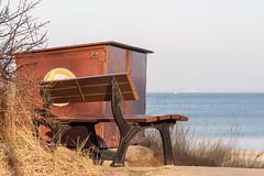 Timmendorfer Strand (snoopsmaus) Tags: deutschland lonelyparkbench parkbank strand strandpromenade timmendorferstrand