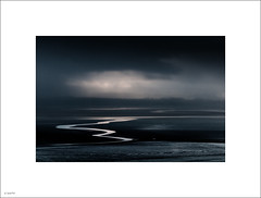 Morecambe Bay, squiggleDSC_8382s (John Leech) Tags: morecambebay northwestengland cumbria landscape seascape moody