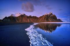 Islandia 149 (zapicaña) Tags: vestrahorn iceland islandia island landscape waterscape paisaje playa mountain montaña beach zapigata