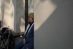 Nameless (Spontaneousnap) Tags: spontaneousnap street shanghai china city like candid documentary people publicareas lifestyle 上海 leicaq takeabreak afternoon asia wait wheelchair