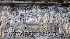 Borubudur (Hans van der Boom) Tags: vacation holiday asia indonesia indonesië java candi temple boribudur relief art buddhist borubudur id