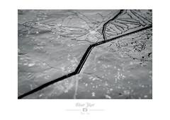 Fatalité (Nibor Jiher) Tags: eau glace macro glaces noirblanc proxi abstract abstrait