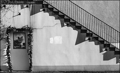 Old stairs (Logris) Tags: old alt treppe bw sw stairs canon