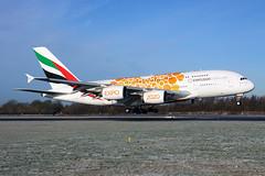 A6-EOB_MAN_310119_KN_204 (JakTrax@MAN) Tags: a6eob emirates uae ek airbus a380 a380800 380 388 manchester ringway airport egcc man 380800 runway 05r orange expo dubai 2020