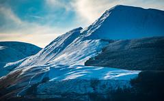 Grisedale pike (DJNanartist) Tags: nikond750 nikon28300mm lakedistrict anartist snow frozen bowderstone borrowdale skiddaw castlerigg