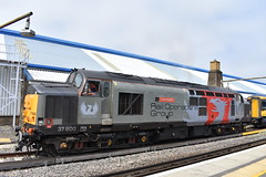 Rail Operations Group 37800 on the Final Class 375 Drag @ Ramsgate departing light engine on 0H72 09/06/18 (Kent Rail) Tags: rail operations group 37800 final class 375 drag ramsgate departing light engine 0h72 090618 emud wembley eur frt ops cntre actual time departure 1424 6e 37 rog