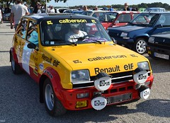 RENAULT 5 Alpine Groupe 2 ex RAGNOTTI (rallye Monte Carlo) - 1978 (SASSAchris) Tags: renault 5 r5 gordini world series by ricard voiture française losange castellet circuit jean ragnotti andrie groupe 2 rallye monte carlo