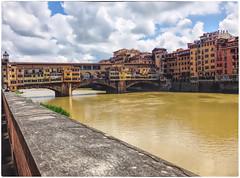 Firenze, Ponte Vecchio (Tor Einar Andersen) Tags: firenze pontevecchio italia italy arno bridge bru