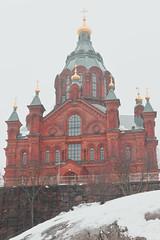 Uspenski Cathedral (shifuxian) Tags: helsinki finland building church architecture religion orange