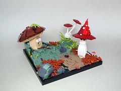 Semiconductor Susaninus (Dwalin Forkbeard) Tags: lego moc mushroom forest creature magic fantastic beasts