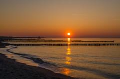 Sonnenuntergang in Zingst (B_B Fotos) Tags: ostsee dars zingst licht strand deutschland