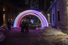 Phoenix Rainbow by Phoenix Rainbow Team @ Toronto Light Festival 2019 (A Great Capture) Tags: led giant rainbow phoenix team toronto light festival 2019 symbolic peace symbolicpeace studio rosenblatt theartoflight torontolightfestival theartoflighttolightfest historicdistillerydistrict distillerydistrict lightfest lights public art artinstallation installation installationart contemporaryart lightart lightartwork agreatcapture agc wwwagreatcapturecom adjm ash2276 ashleylduffus ald mobilejay jamesmitchell on ontario canada canadian photographer northamerica torontoexplore winter l'hiver city downtown urban night dark nighttime cold snow weather colours colors colourful colorful cityscape urbanscape eos digital dslr lens canon 70d sigma 1750mm outdoors outside