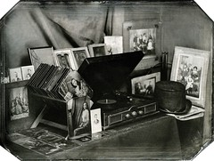 Inside the studio (Tintype) (Ambrotipescu) Tags: tintype collodion ambrotype wetplate wetcollodion vintage analog photography portrait