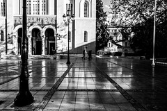 Metropolitan Cathedral of the Annunciation, Athens, Greece (Davide Tarozzi) Tags: metropolitancathedraloftheannunciation athens greece cattedralemetropolitanadellannunciazione atene grecia chiesa cathedral cattedrale biancoenero blackwhite blackandwhite αθήνα ελλάδα