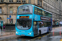 37542 SF58ATZ First Glasgow (busmanscotland) Tags: mxz3349 mxz 3349 37542 sf58atz first glasgow sf58 atz volvo b9tl wright eclipse gemini