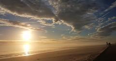 Blyth Beach - Sunrise and Sea Fret (Gilli8888) Tags: samsung s7 galaxy cameraphone northumberland harbour port sea northsea seaside coast coastline eastcoast northeast blyth blythbeach sunrise colour sky