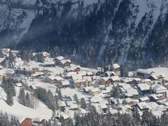 Overlooking Murren (deltrems) Tags: murren berner bernese oberland swiss switzerland town mountain village