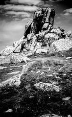 SCY0458 - Granite carn, Long Point, St Agnes, Isles of Scilly. (www.jhluxton.com - John H. Luxton Photography) Tags: stagnes islesofscilly scilly scillonia scillyisles granite carnivalcorporation england uk cornwall coast kernow longpoint granitecarn monochrome blackandwhite landscape granitelandscape