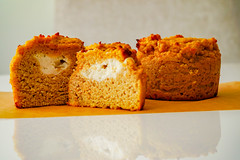 2019.02.08 Low Carbohydrate, Healthy Fat Pumpkin Muffins with Cream Cheese Filling, Washington, DC USA 09754