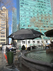 2019 Big Umbrella Academy in Bryant Park NYC 1331 (Brechtbug) Tags: big umbrella bryant park nyc 2019 february 02132019 new york city 6th avenue near 42nd st behind public library midtown manhattan the academy netflix tv series comic book based starting friday 15th bumbershoot umbrellas