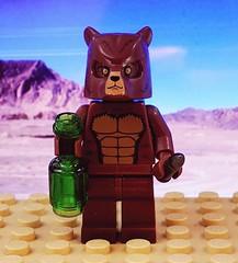 Corporal Wojtek the Bear (brickhistorian) Tags: lego ww2 wii history fig minifig minifigure moc build bear world war two afol legos building brick custom customs