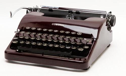 Corona Typewriter ($140.00)