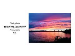 "Solomons Dusk Glow • <a style=""font-size:0.8em;"" href=""https://www.flickr.com/photos/124378531@N04/46380889864/"" target=""_blank"">View on Flickr</a>"